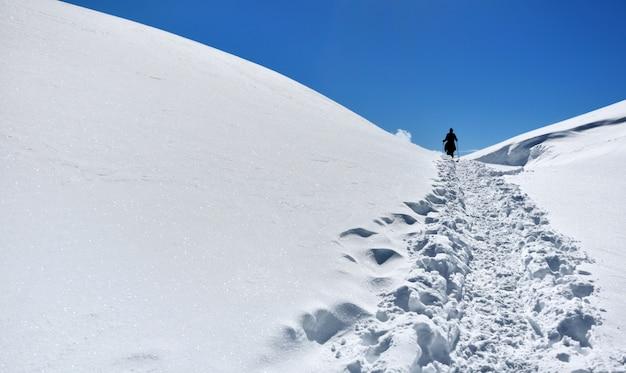Wędrówki w śniegu