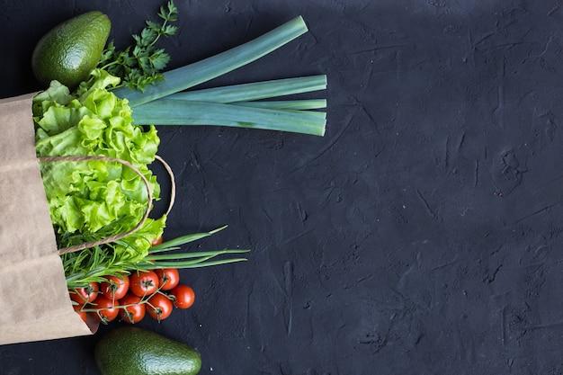 Wegański pakiet zakupowy warzyw