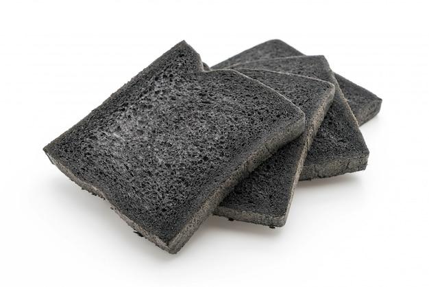 Węgiel drzewny chleb na bielu