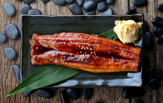 Węgorz japoński z grilla lub unagi ibaraki.
