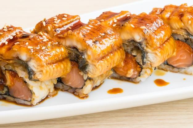 Węgorz sushi