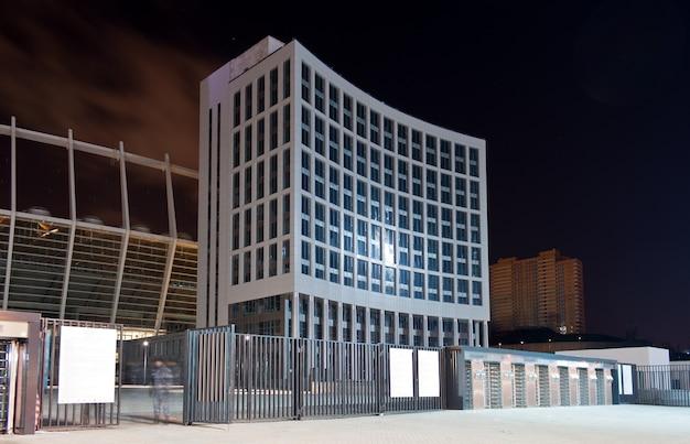 Wejście kijowskiego stadionu olympiyskiy