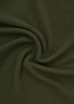 Wełniana tkanina akrylowa. tekstura wełniany sweter z dzianiny