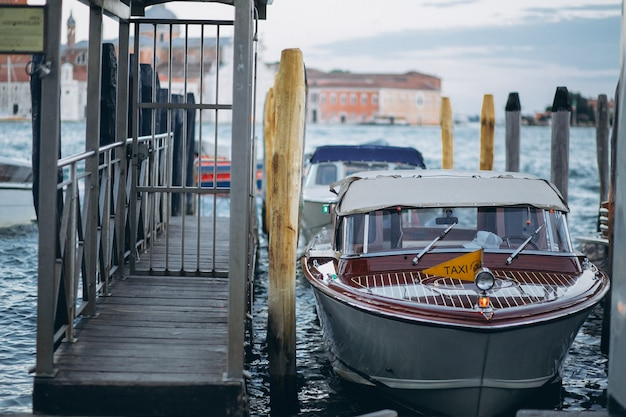 Wenecja taksówką wodną