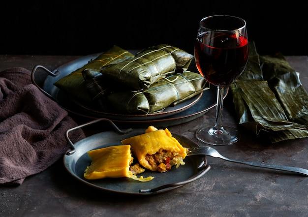 Wenezuelskie świąteczne potrawy, hallacas