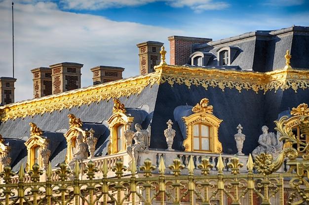 Wersal, francja 10 września 2016: pałac w wersalu
