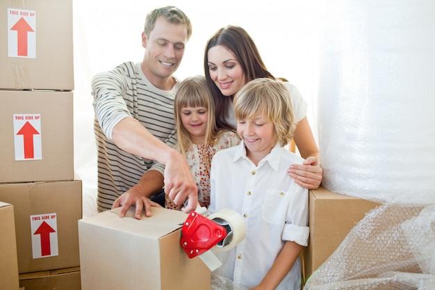 Wesołe pakunki rodzinne