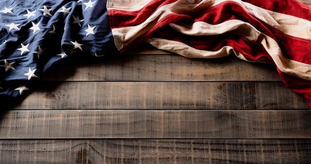 Wesołego dnia niepodległości. amerykańskie flagi, 4 lipca.