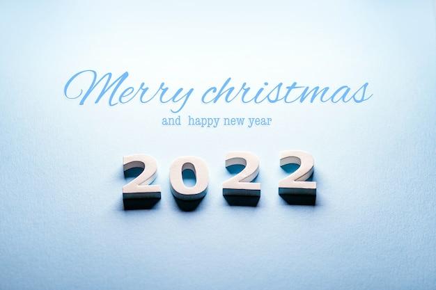 Wesołych świąt 2022szczęśliwego nowego roku 2022liczby 2022wesołych świąt i szczęśliwego nowego roku 2022