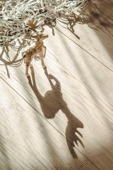 Wesołych świąt bożego narodzenia z jelenia bożego narodzenia.