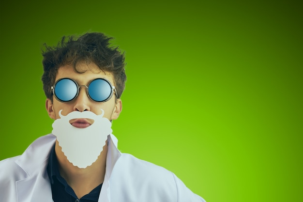 Wesołych świąt lekarz święty mikołaj