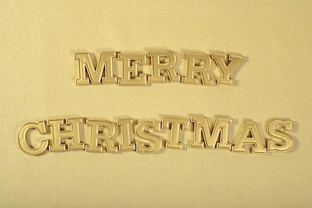 Wesołych świąt złoty tekst na złotym tle