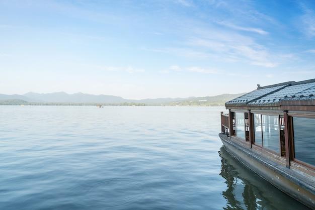 West lake hangzhou statek wycieczkowy