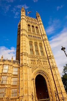 Westminster wierza blisko big ben w londyn
