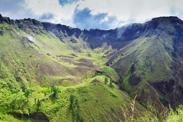 Wewnątrz wulkanu