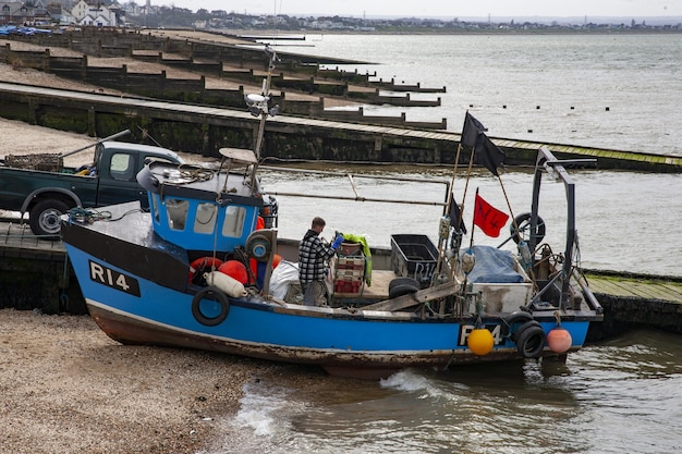 Whistable fishing boat