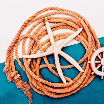 Wibracje morskie lina morska zestaw rybaka