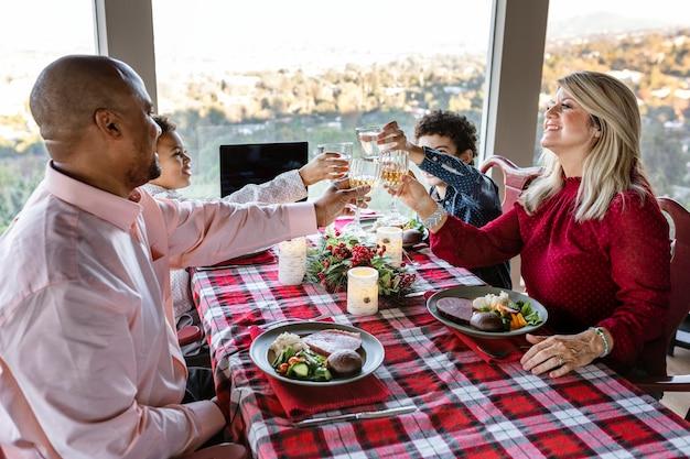Wideorozmowa z kolacją wigilijną w nowej normie