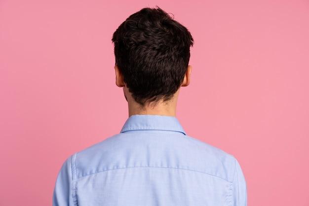 Widok człowieka z tyłu