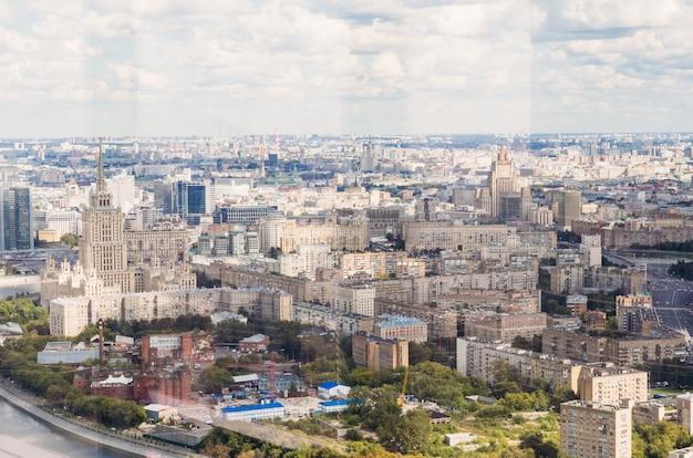 Widok domu radzieckiego w moskwie