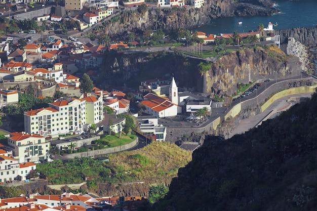 Widok funchal na maderze w portugalii