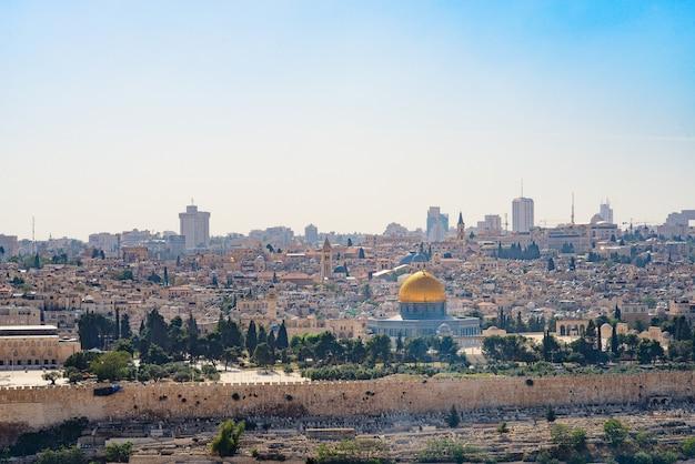 Widok jerozolimy