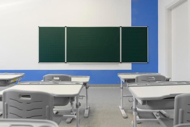 Widok klasy pod dużym kątem