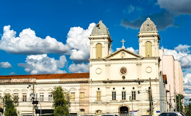 Widok kościoła sao cristovao w sao paulo, brazylia
