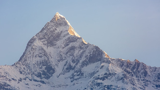 Widok machapuchare