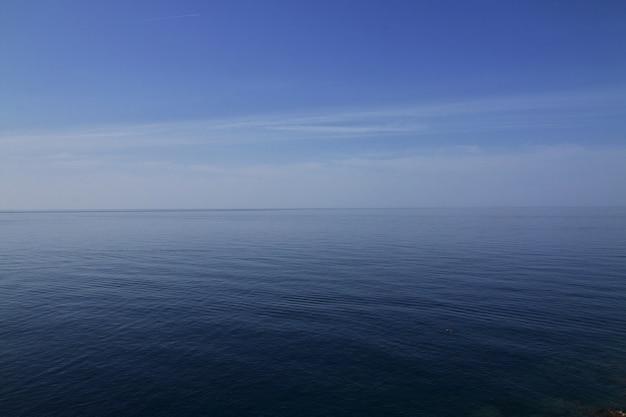 Widok na adriatyk, dubrownik, chorwacja