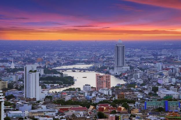 Widok na bangkok