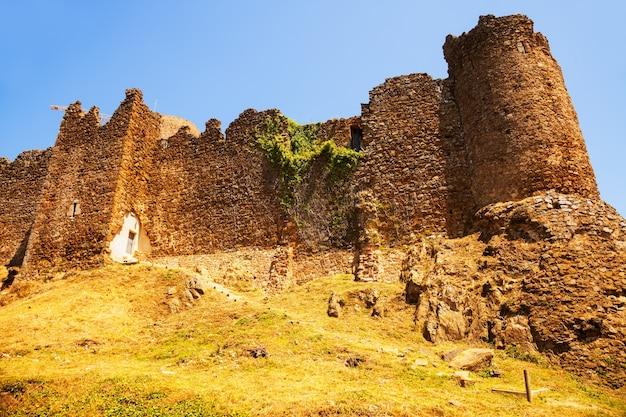 Widok na castell de montsoriu