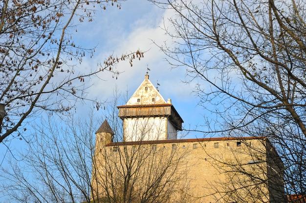 Widok na długą wieżę hermana