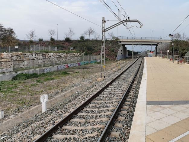 Widok na dworzec kolejowy w maladze