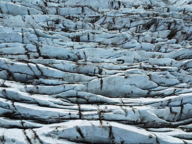 Widok na lodowiec svínafellsjökull, iceland