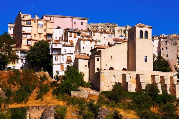 Widok na miasto cuenca