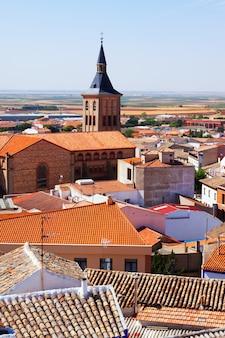 Widok na miasto w la manchy