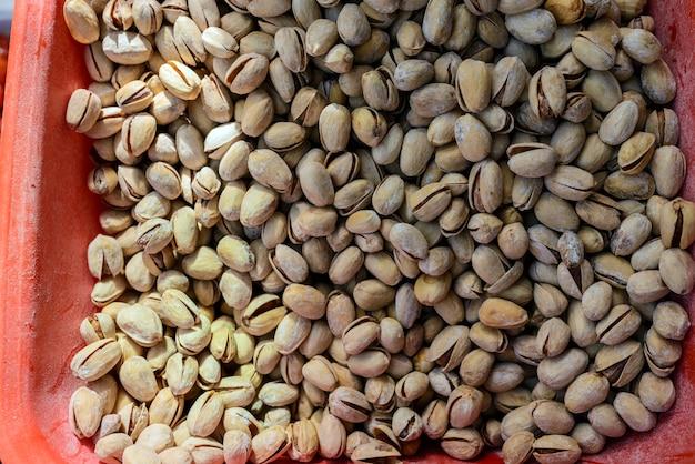 Widok na pistacje