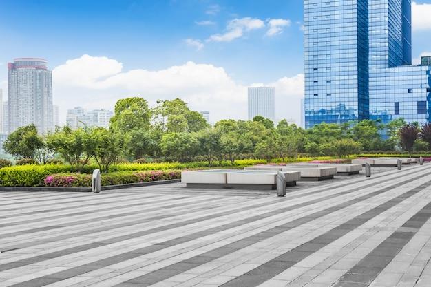 Widok na plac miasta