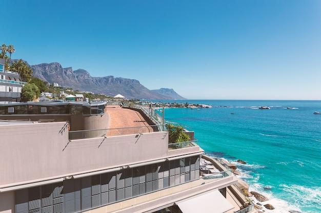 Widok na plażę clifton - najdroższe i luksusowe miejsce w południowej afryce