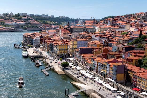 Widok na port w porto