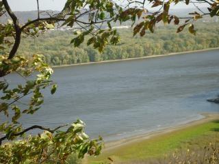 Widok na rzece missisipi