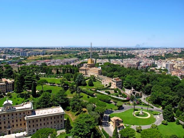 Widok na watykan, rzym, włochy