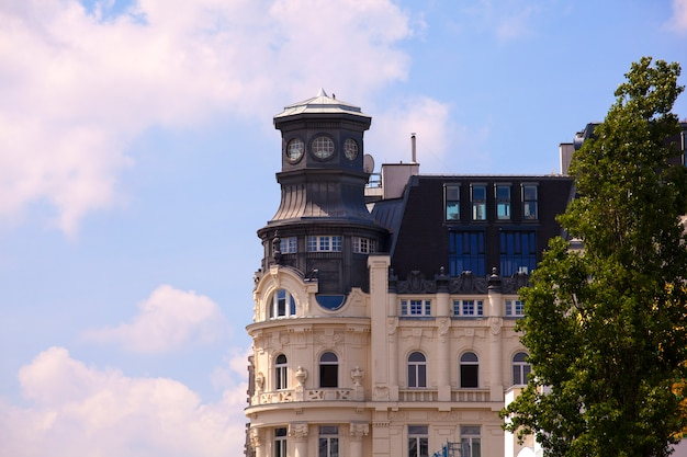 Widok na wiedeńskie budynki