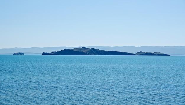 Widok na wyspę oltrek