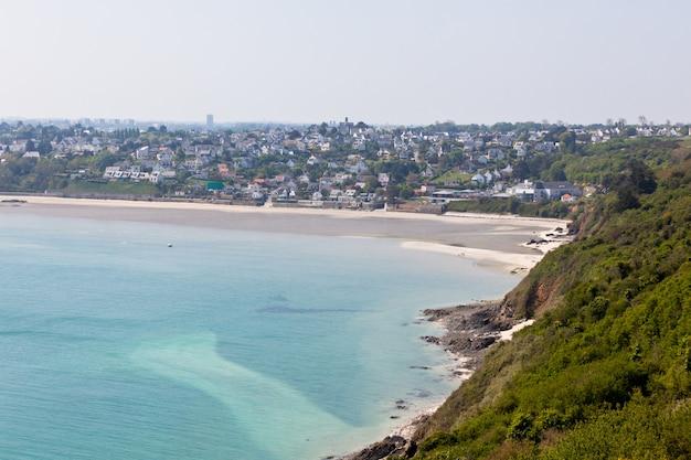 Widok na zatokę zachodnią bretanii