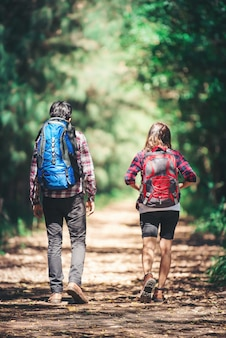 Widok podróż życia kobiet młodych