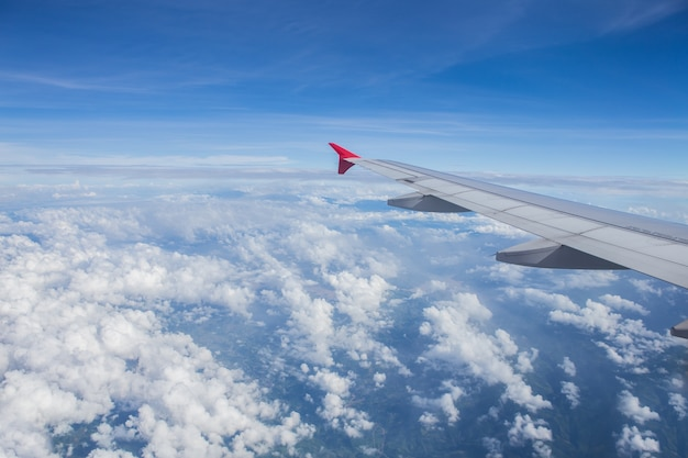 Widok samolotu
