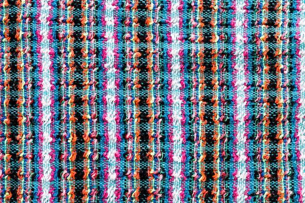 Widok tkaniny z góry