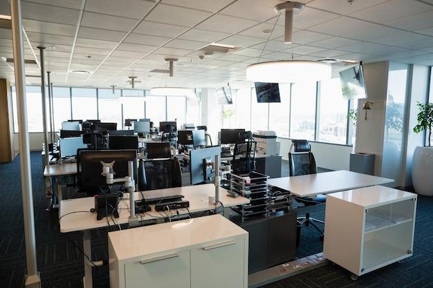 Widok wnętrza biura